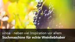 Weinsuchmaschine vinoa