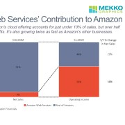 Amazon Net Sales, Operating Income and Change in Net Sales by Business