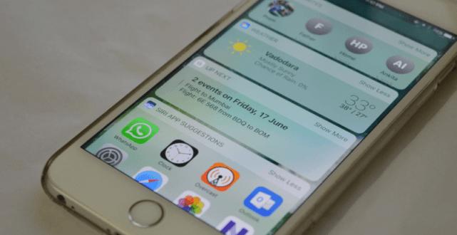 Come aggiungere, rimuovere e spostare i widget di iOS 10