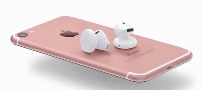 iPhone 7 Plus avrà dei nuovi AirPods senza fili
