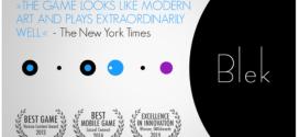 Applicazione della Settimana, Apple sceglie il gioco Blek