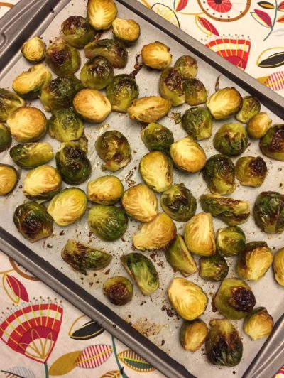Easy Oven Roasted Brussels Sprouts Recipe – Melanie Cooks