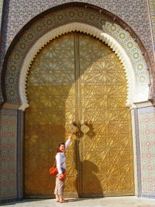 Sarah explores Morocco.