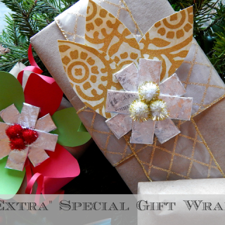 """""""Extra"""" Special Gift Wrap With Gum"""