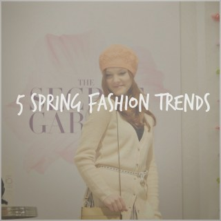 5 Spring Fashion Trends
