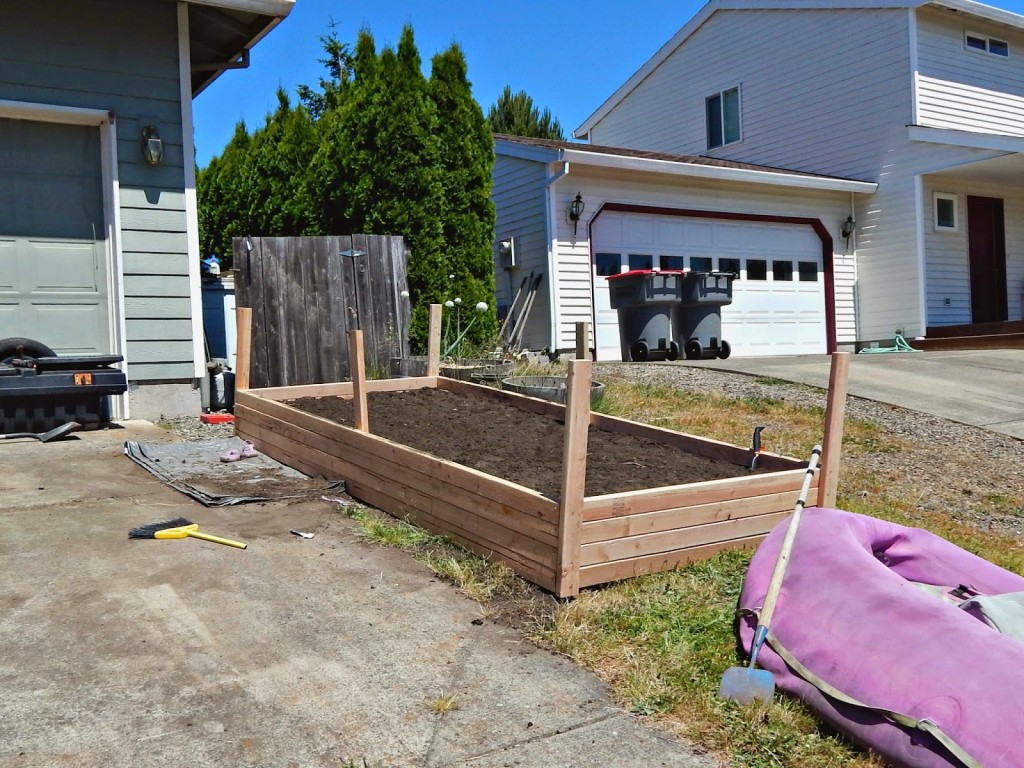 how i built a raised garden with a little help from tom u0027s of maine