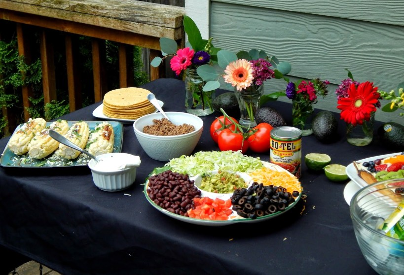 Photos from a beautiful and colorful Zesty Taco Dinner Party #Zestyinadash #sp