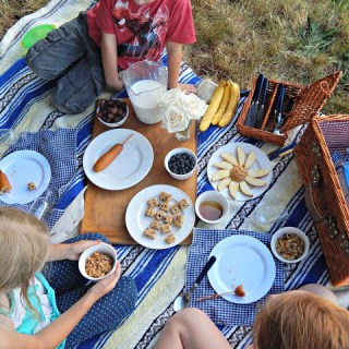 Why We Had a Picnic for Breakfast