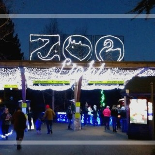 Living Locally: Zoolights at The Oregon Zoo