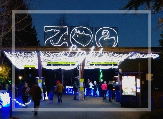 zoolights at the oregon zoo