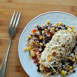 Garden Chicken Rice