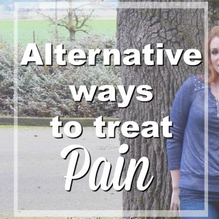 Alternative Ways to Treat Pain