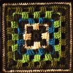 Crochet Brighter Daze Square