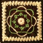 Crochet Nosegay Square