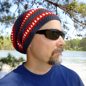 Crochet Gifts for Men - Cubed Hat