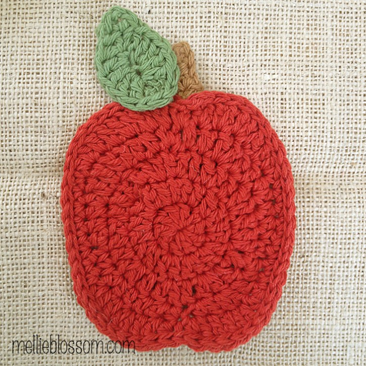 Free Apple Crochet Pattern