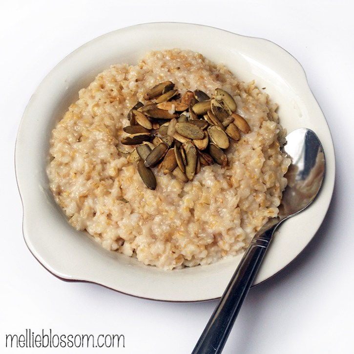 Overnight Crockpot Steel Cut Oats