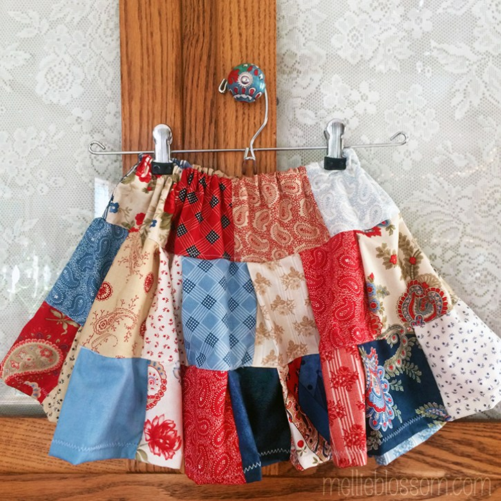 A Baby Skirt for Clara - mellieblossom.com