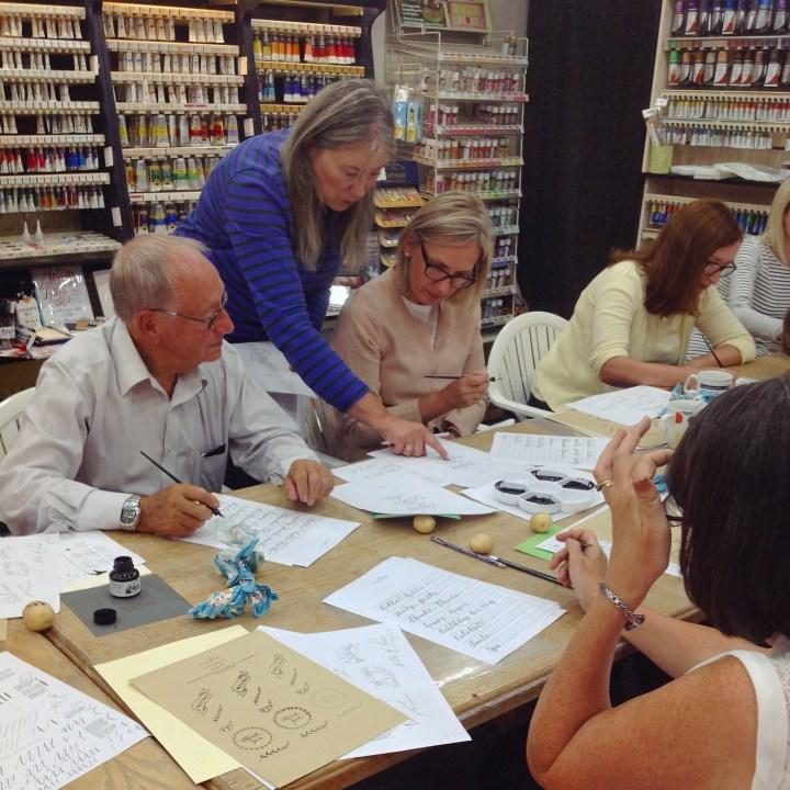 Beginners Modern Calligraphy workshop: Cedar Farm, Mawdesley (Mellor and Rose)