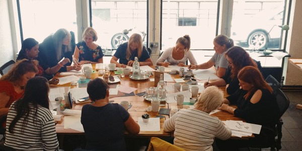 Beginners Modern Calligraphy/ Lettering workshop with Mellor and Rose: Society1, Preston Lancashire  (Lytham, Preston, Blackpool, Southport, Lancaster, Liverpool, Manchester, Harrogate, Mawdesley)