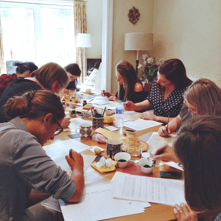 Beginners Modern Calligraphy workshop: Lytham St Annes (Mellor and Rose)