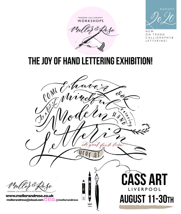Mellor & Rose Exhibition - CASS ART Liverpool