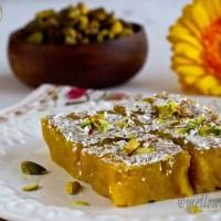 Moong Dal Ki Burfi : Lentil Fudge |Sweet|