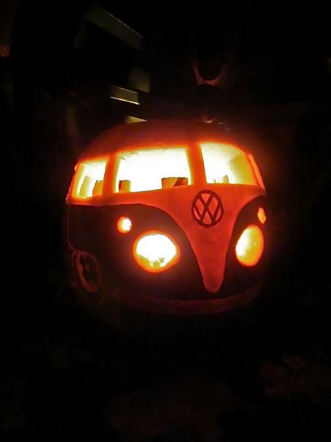 VW Halloween Pumpkin