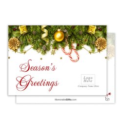 Perky Seasons Greeting Corporate Holiday Card 12457 Li Holiday Greeting Cards Online Holiday Greeting Cards On Sale