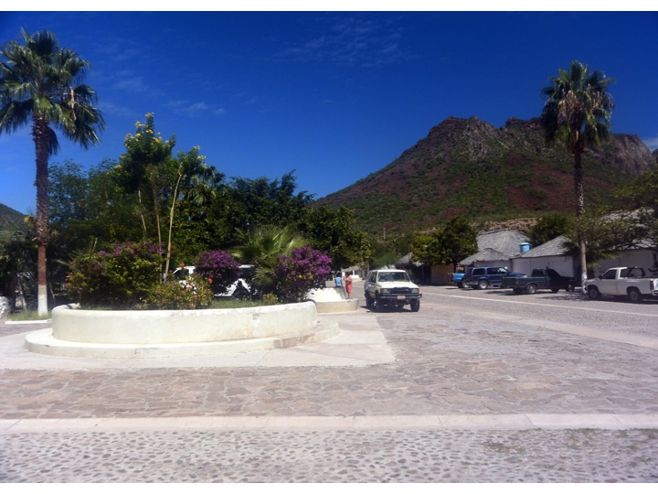 San Javier is a very clean and well laid village with about 200 residents.