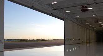 Aircraft Hanger Doors Brush Seals