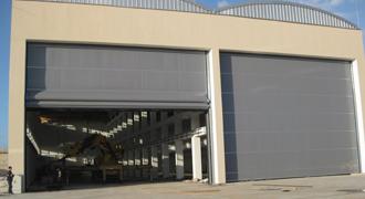 Aircraft Hanger Doors