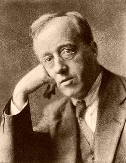 Gustav Holst, circa 1921 (photograph by Herbert Lambert)