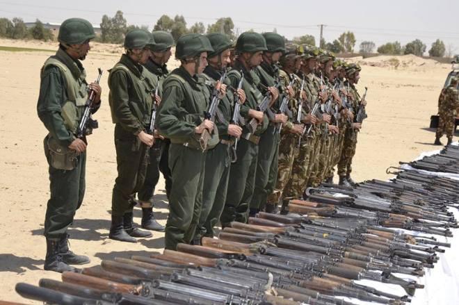 Encore une saisie impressionnante d'arme en Algérie