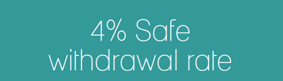 4 safe withdrawal rate