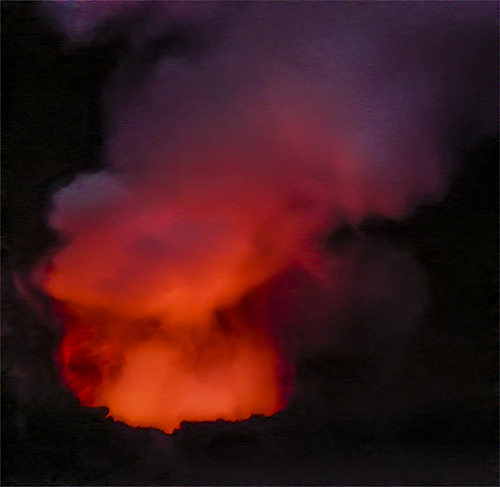 Halema`uma`u Volcanic Vent