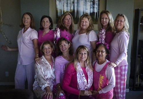 Menopause Goddesses Sleep in Pink