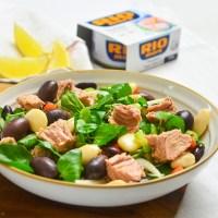 Salata cu ton si fasole