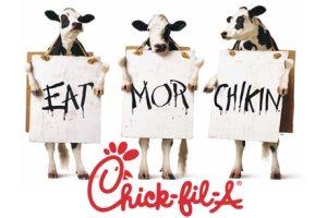 Chickfila menu prices