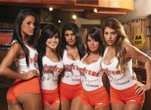 Hooters Menu prices