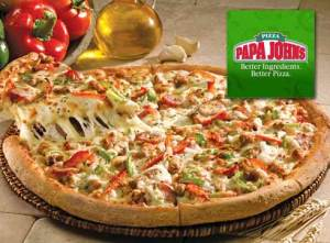 Papa Johns Menu prices happy hour