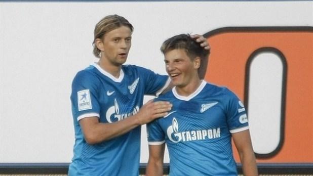 Tymoshchuk et arshavin