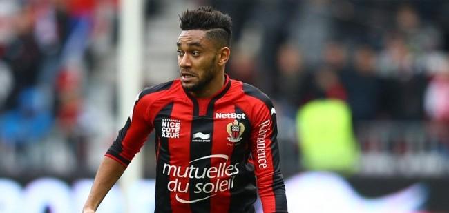 Jordan Amavi - 14.12.2014 - Nice / Saint Etienne - 18eme journee de Ligue1 Photo : Manuel Blondeau / Icon Sport