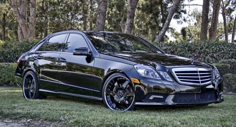Mercedes-Benz E350 w212 Hess Motorsports
