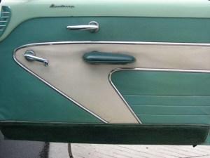 1954 Mercury door panel
