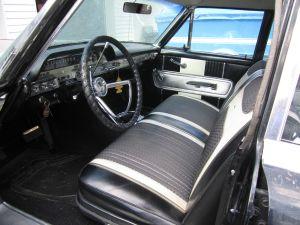 1962 Monterey Custom interior