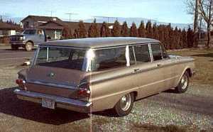 1962 Comet Custom Station Wagon