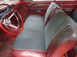 1963 Mercury Meteor interior
