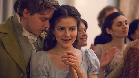 Sonya and Nikolai, from the BBC production of War and Peace.