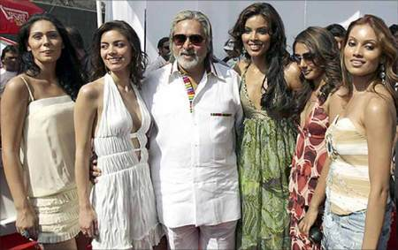 Vijay Mallya was known for his flamboyant lifestyle.